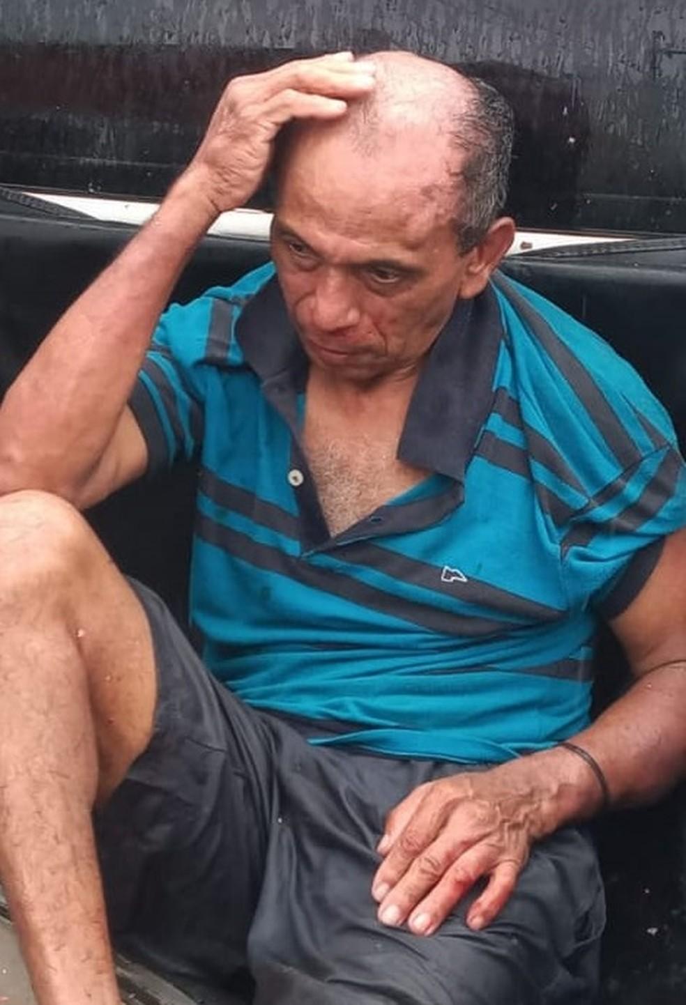Homem preso por suspeita de estupro contra uma criança de seis anos no bairro Cidade Verde, em Paço do Lumiar — Foto: Redes Sociais