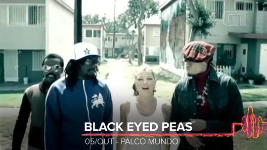 Black Eyed Peas faz show em SP antes do Rock in Rio e toca 'eXplosion' ao vivo pela 1ª vez