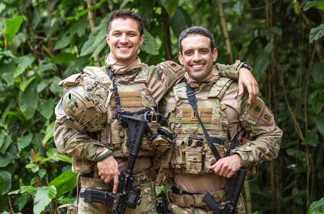 Romulo Estrela e Jaedson Bahia  (Foto: Arquivo pessoal)