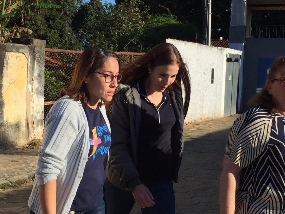 Suzane von Richthofen deixa prisão para saidinha temporária de Dia dos Pais — Foto: Luiza Veneziani/G1