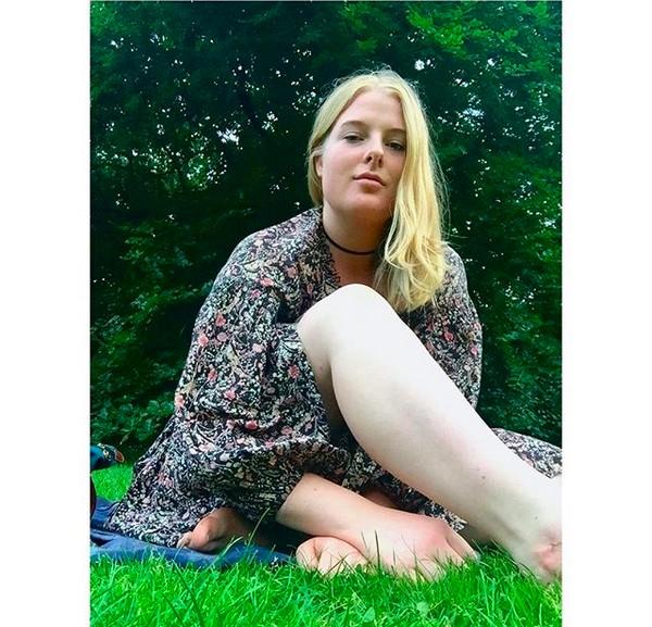 A modelo Imogen Ker (Foto: Instagram)