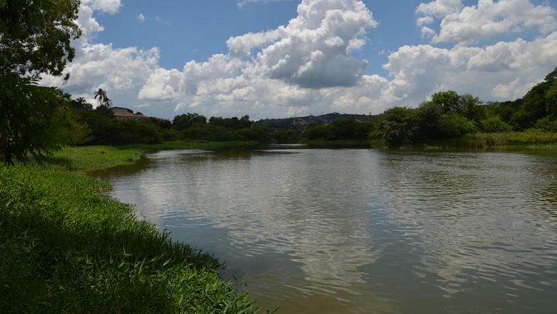 água - represa - barragem sete quedas - mairiporã - abastecimento (Foto: Rovena Rosa/Agência Brasil)