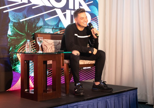 Wesley Safadão fala de novo DVD (Foto: Ederson Lima)