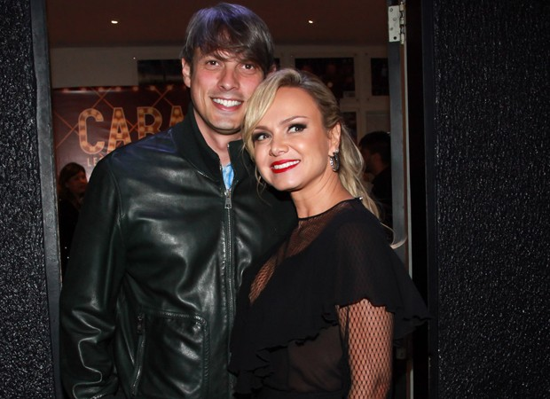Eliana e o namorado, Adriano Ricco (Foto: Marcos Ribas/Brazil News)