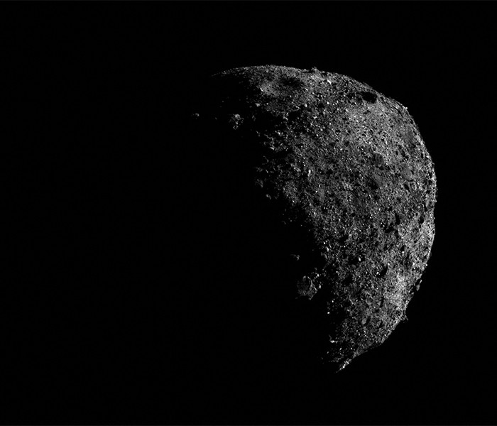 Outra foto do Bennu (Foto: NASA)