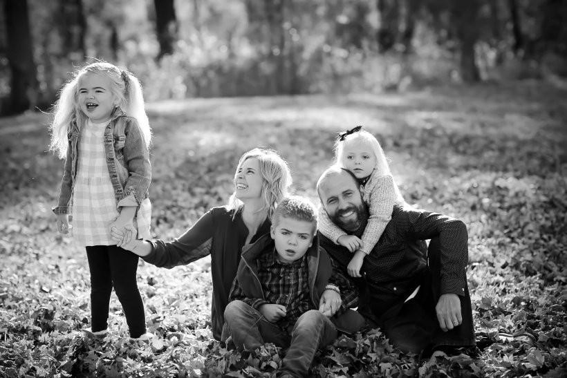 Brooklyn à esquerda, com a família (Foto: Reprodução / Instagram)