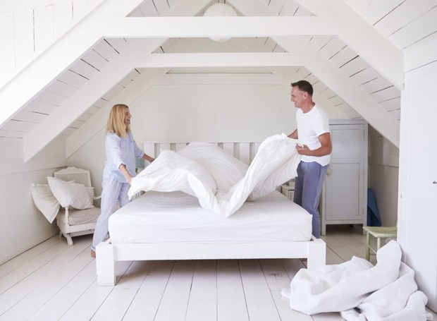 Qual a importância dos lençóis na hora de fazer a cama?