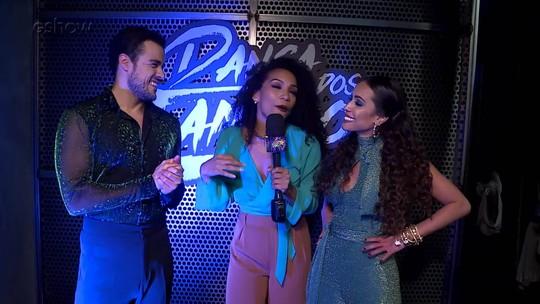 Elenco masculino repercute a estreia no Dança dos Famosos