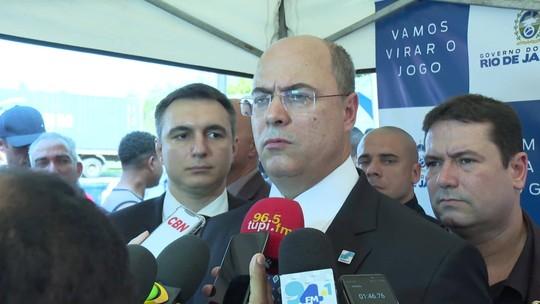 Witzel sugere fechar acessos de comunidades a rodovias do Rio