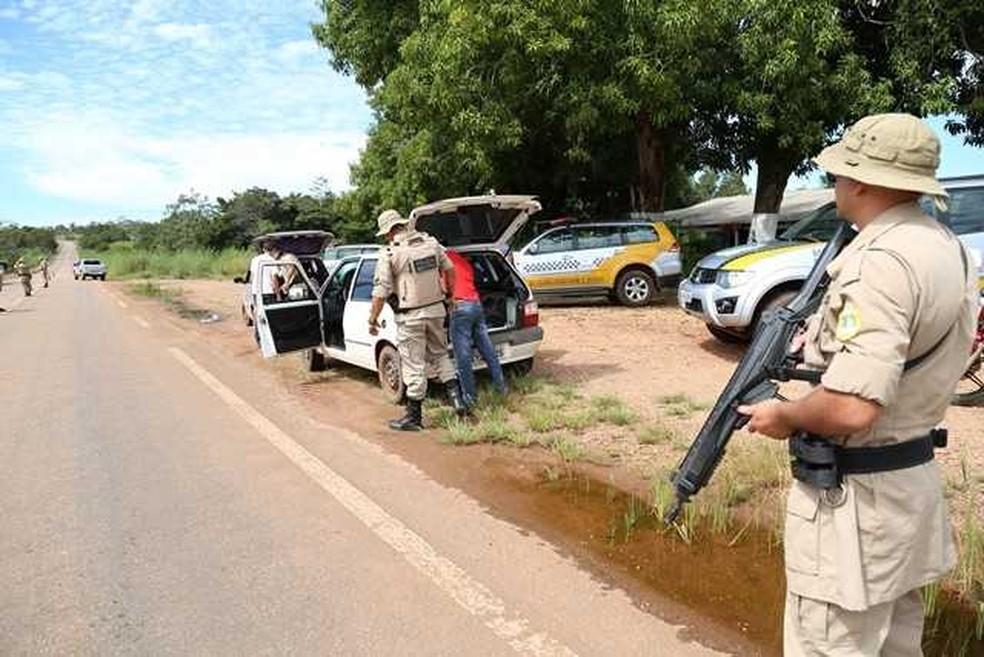 Mais de 1800 policiais militares farão a segurança da Eleição Suplementar  (Foto: PM/Divulgação)