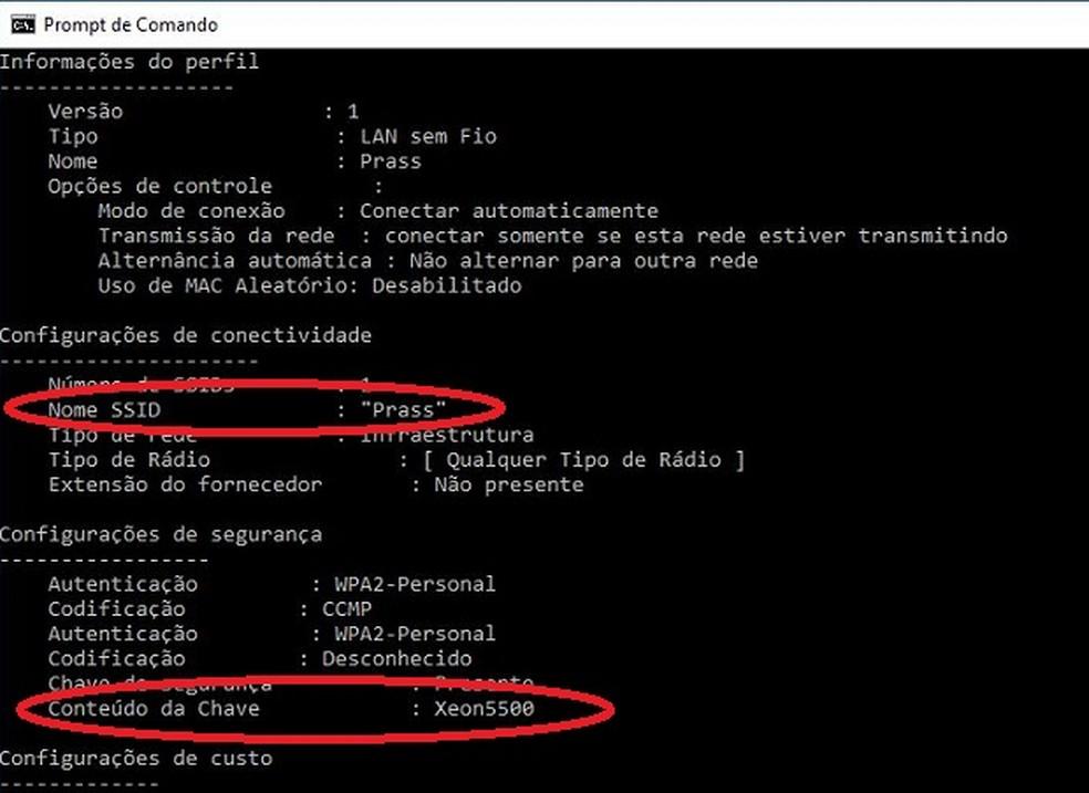 Como descobrir a senha do wi-fi no Windows — Foto: Reprodução/G1