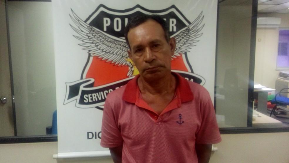 -  Condenado por estuprar criança é preso em Belém.  Foto: Reprodução / Polícia Civil