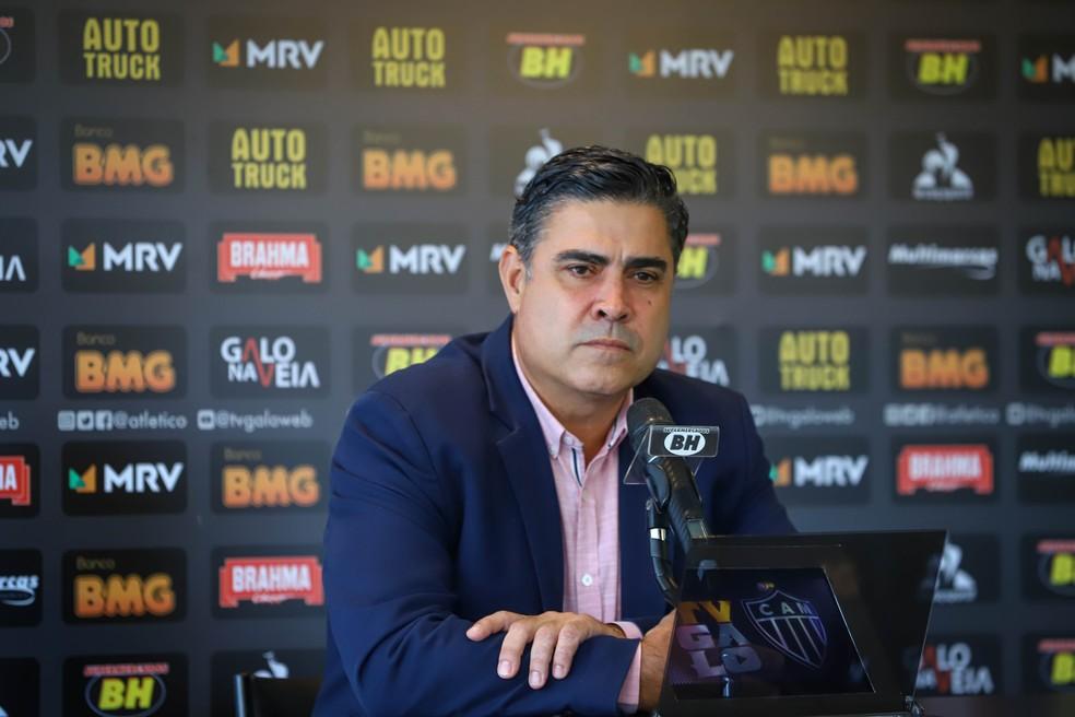 Sérgio Sette Câmara, presidente do Atlético-MG — Foto: Pedro Souza/Atlético-MG