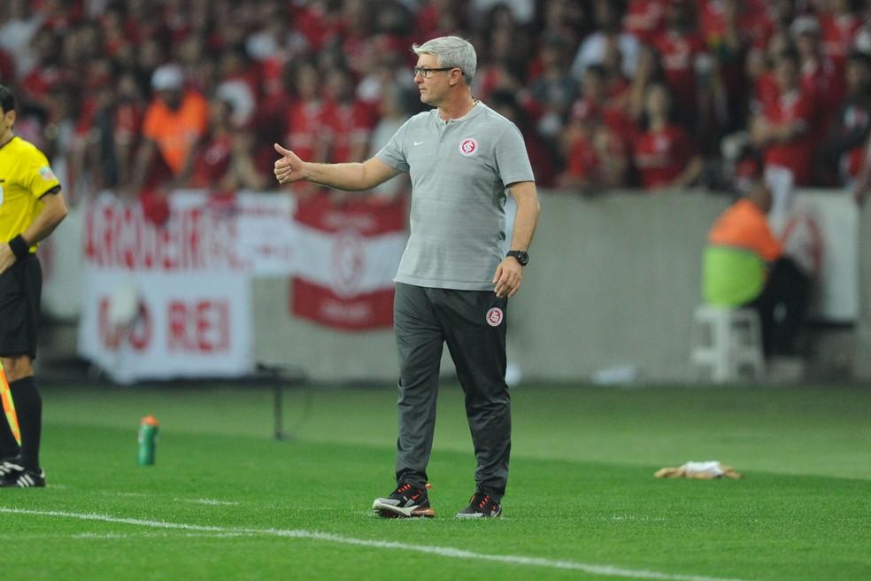 Odair Hellmann ainda busca primeiro troféu como treinador  — Foto: WESLEY SANTOS/AGÊNCIA PRESSDIGITAL