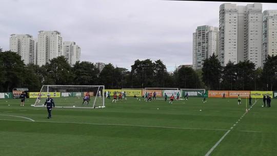 Provável substituto na lateral, Jean faz trabalho à parte em reapresentação do Palmeiras