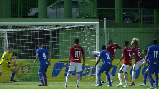 Internacional x Cruzeiro  - Copa RS sub-20 2018 - globoesporte.com