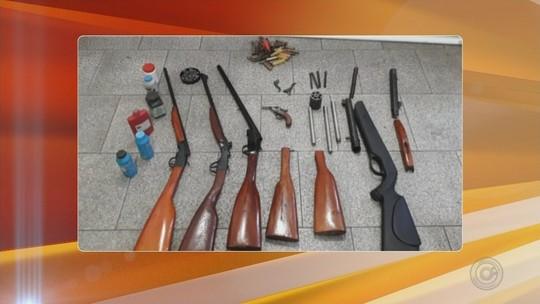 Homem é preso suspeito de fabricar e vender armas clandestinas em Catanduva