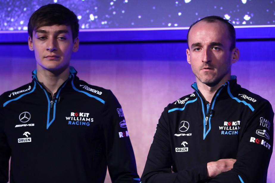 Robert Kubica fica surpreso com relatos de ódio de poloneses a George Russell nas redes sociais