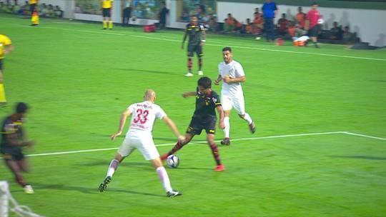 Os gols de Bragantino 1 x 1 Sport pela 2ª rodada da Série B