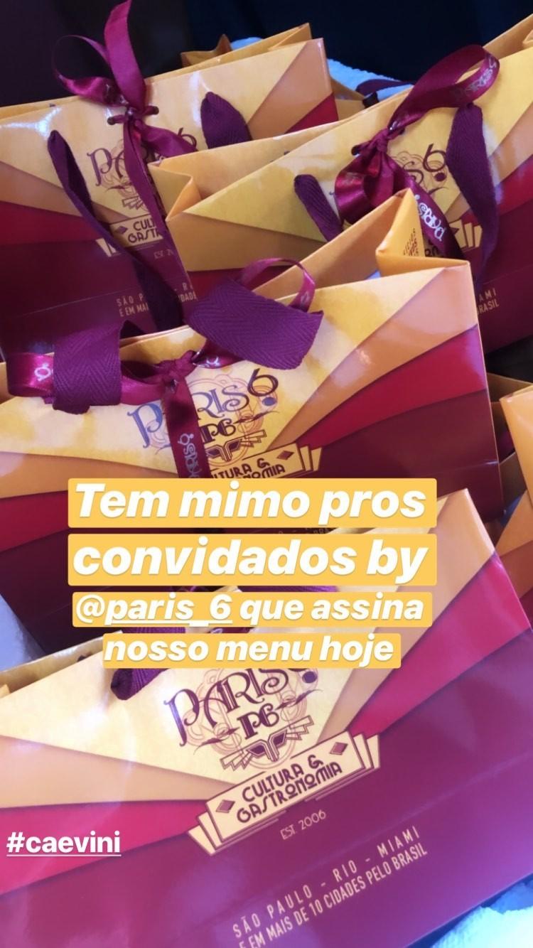 Detalhes do casamento de Carol Dantas e Vinicius Martinez (Foto: Reprodução/Instagram)