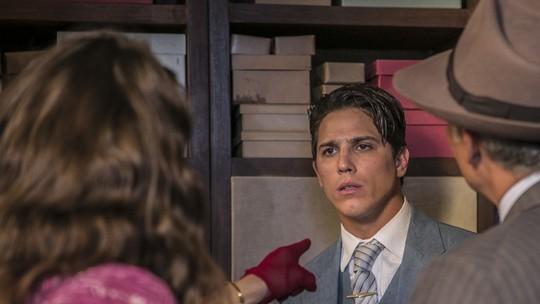 Diana acusa Braz após flagra de beijo na loja de Severo