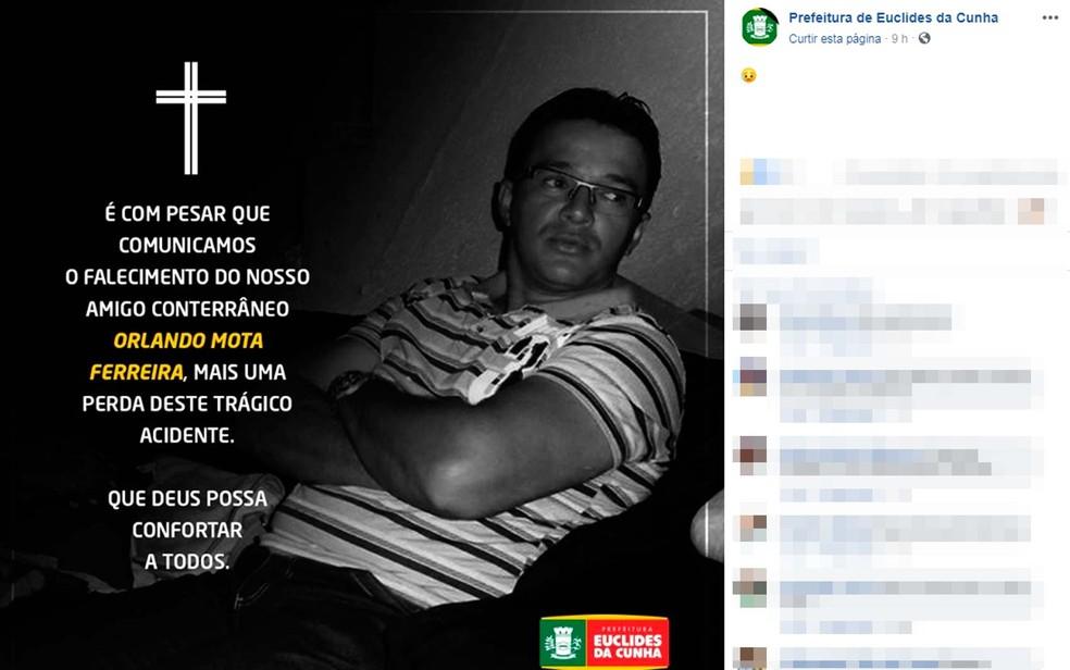 Morre sétima vítima de acidente com ônibus que seguia para concurso de fanfarras e carreta na Bahia — Foto: Reprodução/TV Bahia