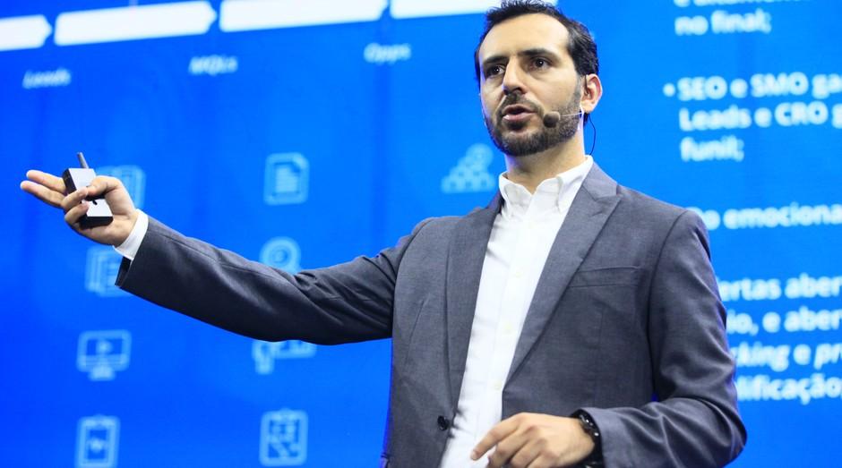 Eric Santos, CEO e fundador da Resultados Digitais (Foto: Divulgação/Felipe Carneiro)