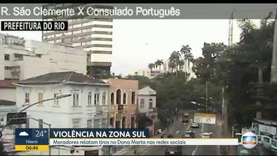 Polícia faz operações no Complexo do São Carlos, no Estácio, e no Dona Marta, em Botafogo