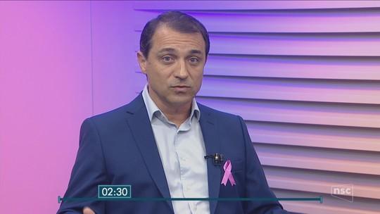 Candidato Comandante Moisés diz que vai manter organizações sociais com bons resultados em hospitais em entrevista ao NSC Notícias
