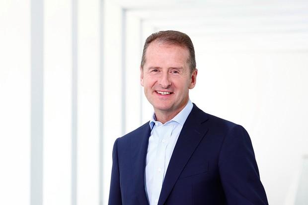 Herbert Diess é o novo presidente da Volkswagen, no lugar de Matthias Mueller (Foto: Divulgação)