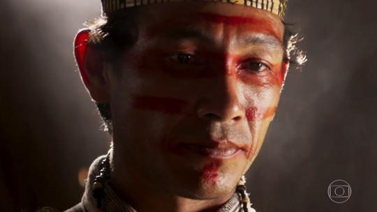 Zeca e Ruy reencontram índio misterioso do passado
