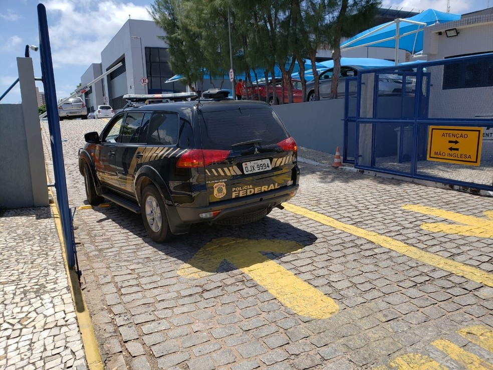 Policiais federais foram às ruas nesta manhã para dar cumprimento a mandados de prisões e de busca e apreensão em Natal e Parnamirim — Foto: PF-RN/Divulgação