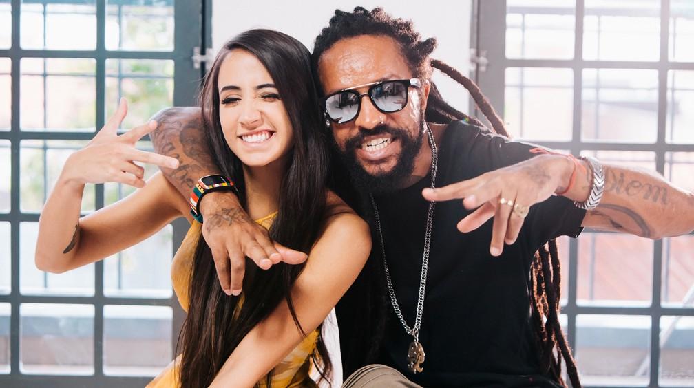 Mariana e Rael fizeram parceria em 'Sons de Amor' (Foto: Marcelo Meirelles Brasileiro)