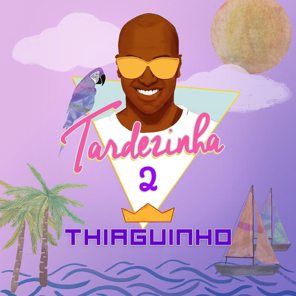 Capa do álbum 'Tardezinha 2', de Thiaguinho (Foto: Divulgação / Som Livre)