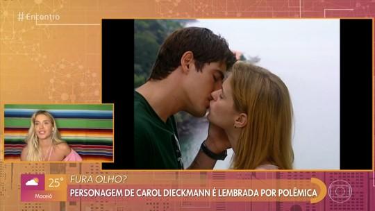 Carolina Dieckmann relembra personagem Camila, de 'Laços de Família': 'Eu era odiada'