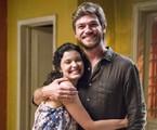 Beto (Emilio Dantas) e Emily (Lucélia Pontes)  | TV Globo/César Alves