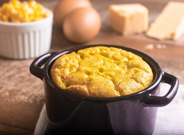 Receita de suflê de milho-verde é prática e fácil de fazer (Foto: GettyImages)