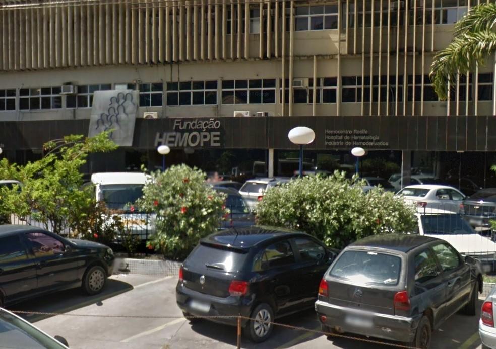 Hemope celebra 40 anos de fundação, em 2017 (Foto: Reprodução/Google Street View)