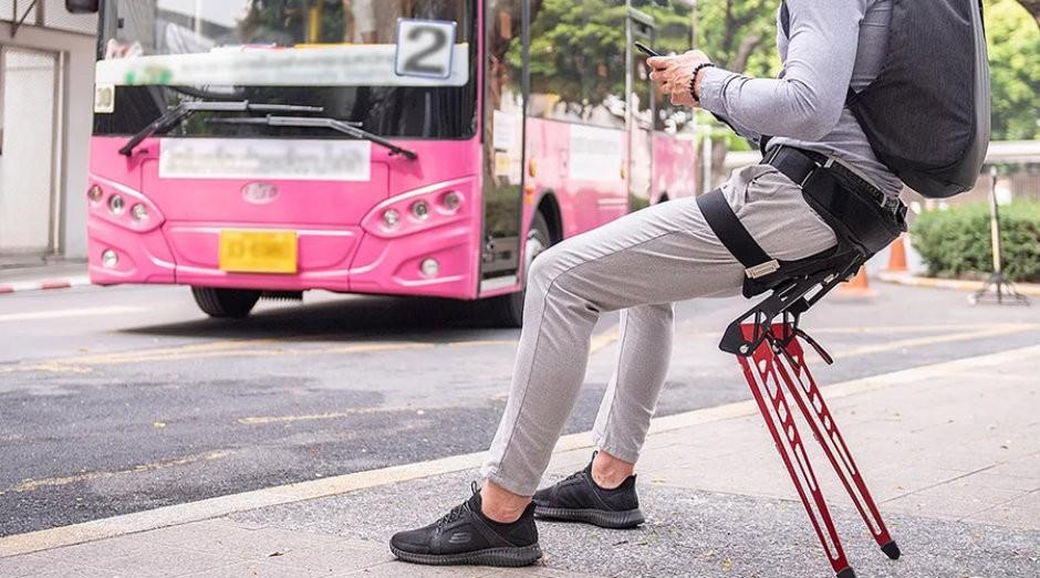 A cadeira LEX possibilita que as pessoas sentem quando quiserem (Foto: Divulgação)