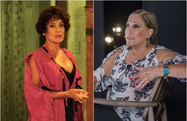 Susana Vieira era a fogosa Rubra Rosa, que escrevia os discursos do marido e o traía com o seu principal opositor político (Foto: Arquivo/Divulgação)