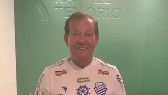 """Presidente do CSA anuncia fim da dívida trabalhista do clube: """"Quitamos 100% do passivo"""""""