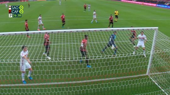 Gol de Cirino e os melhores momentos de São Paulo x Athletico, no Brasileirão