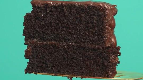 Bolo de Chocolate Molhadão