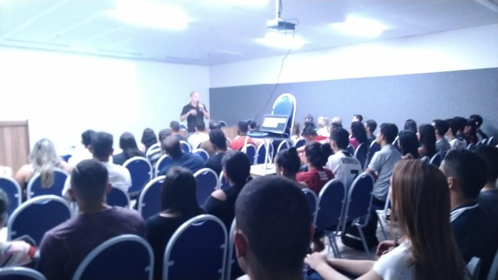 Evento reuniu profissionais da área — Foto: Francisco Castro/Arquivo pessoal