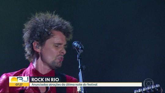 Anunciadas atrações da última noite do Rock in Rio