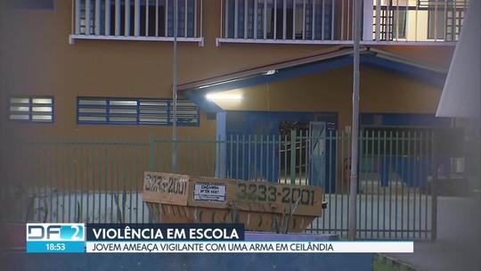 Vigilante de escola é ameaçado em Ceilândia