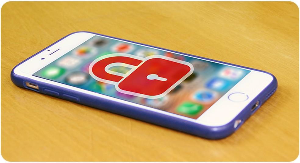 Aparelho celular com a tela bloqueada (Foto: Anatel/Reprodução)