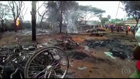 Mais de 60 morrem em explosão de caminhão-tanque na Tanzânia