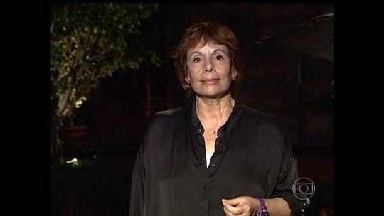 Amigos e parentes se despedem da jornalista Sandra Moreyra