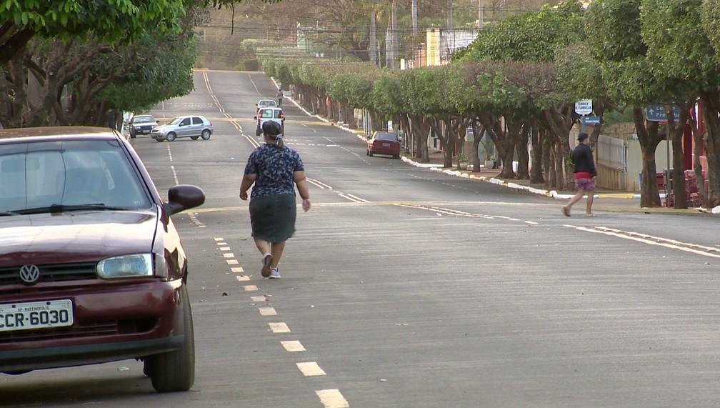 Santa Mercedes tem cerca de três mil habitantes e não registra caso positivo de Covid-19 — Foto: Reprodução/TV Fronteira